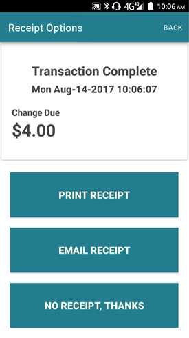 Issue Receipt